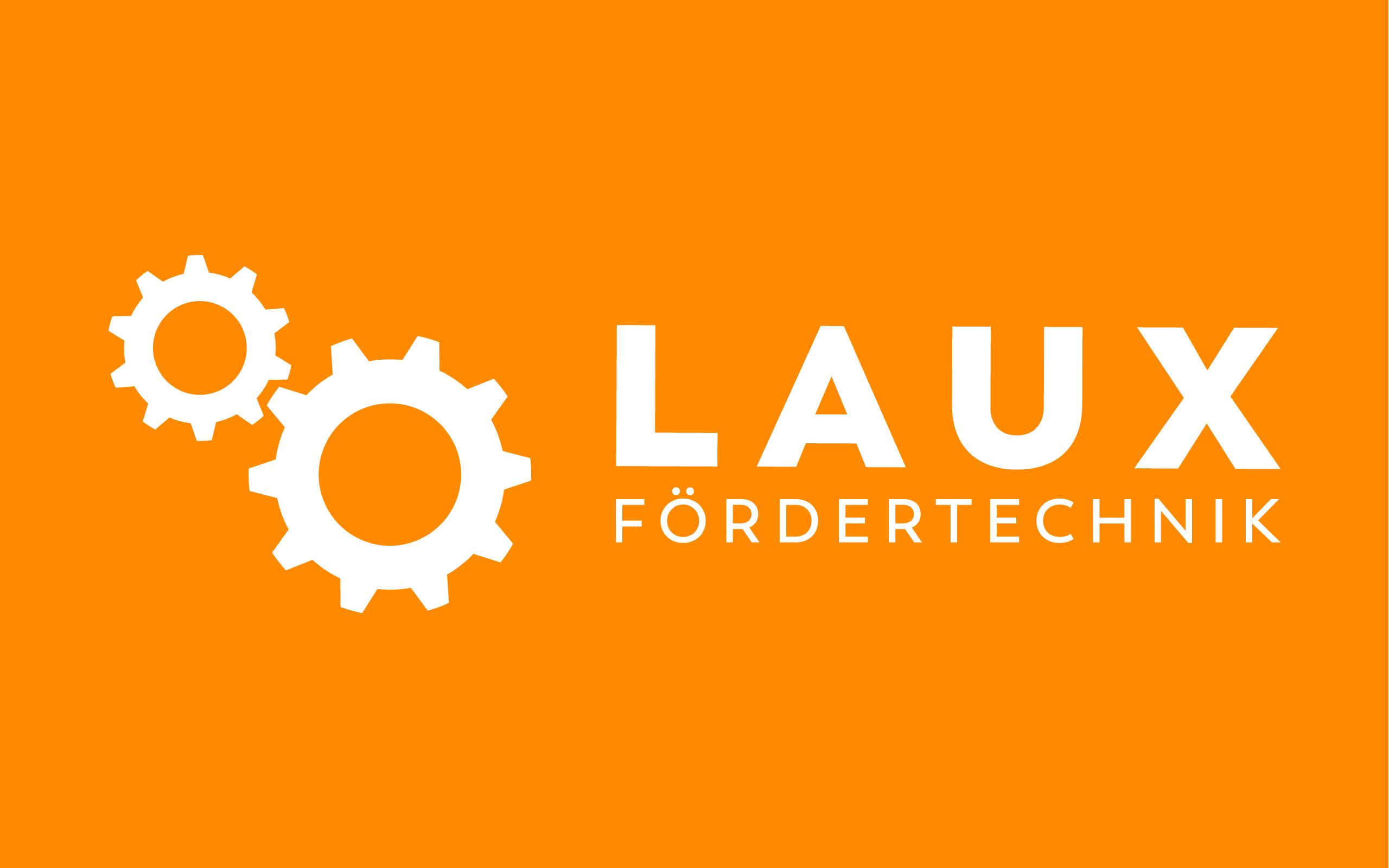 Laux GmbH –Logo Redesign Orange Version