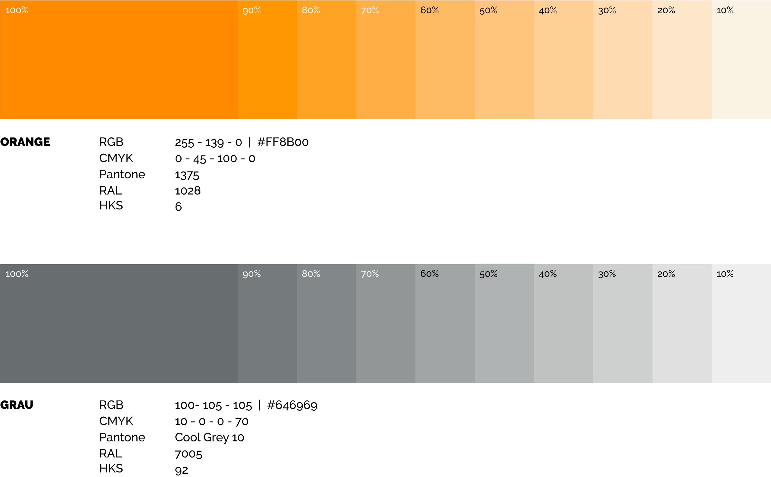 Laux GmbH Firmenfarben